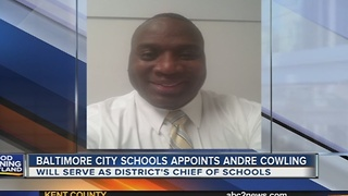 Baltimore City appoints new Chief of Schools - Video