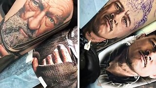 TALENTED ARTIST CREATES HYPER-REALISTIC TATTOOS THAT LOOK LIKE PHOTOS