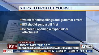 IRS warns scammers are attempting to steal taxpayers refunds