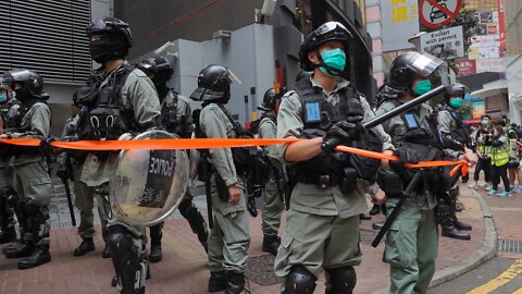 Hundreds Arrested In Hong Kong Over National Security Law Protests