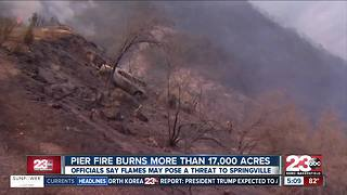 California wildfire update