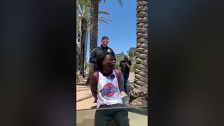 La Mesa officer in arrest video placed on leave, pending investigation