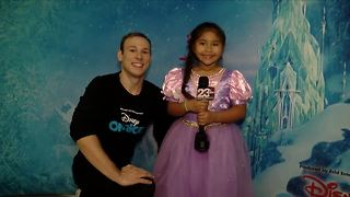 Disney on Ice Junior Reporter - Bakersfield - Video