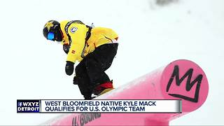 Kyle Mack qualifies for U.S. Olympic snowboarding team - Video