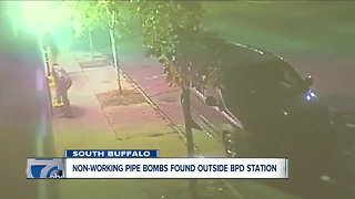 Scene clear after suspicious devices found outside Buffalo police station