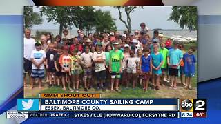 Good morning from the Baltimore County Sailing Center - Video