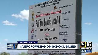 Crowded school buses in San Tan Valley have parents fuming - Video
