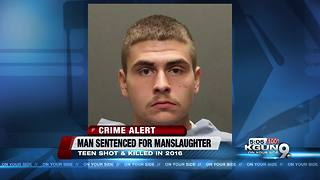 Man sentenced in 2016 manslaughter - Video
