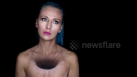 Makeup Artist Creates 'Hole In The Soul' Bodypainting Illusion
