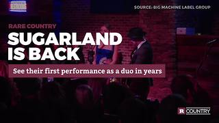 Sugarland is back | Rare Country - Video