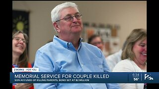 Memorial Service for Couple Killed by their own Son