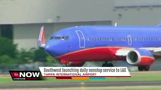 Southwest adds new nonstop flights from Tampa to Los Angeles - Video