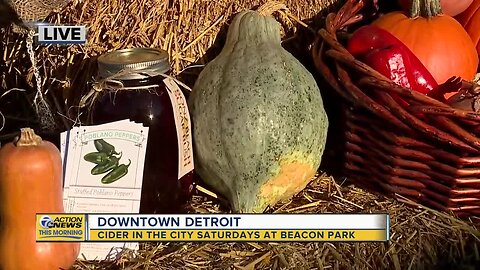 Dumpling Squash: Cider in the City Saturdays at Beacon Park in downtown Detroit