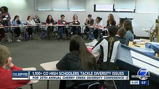 Thousands of Colorado high schoolers discuss diversity and controversial issues - Video