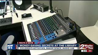Ways 2 Save: Money-saving secrets at the library part II - Video