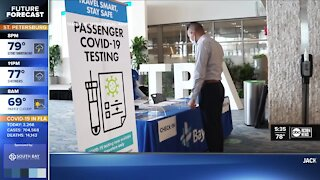 TPA first airport in nation to offer all passengers COVID-19 tests
