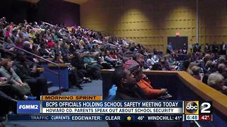 Baltimore County schools to hold safety meeting - Video