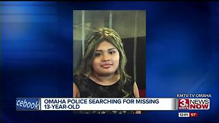 Omaha Police searching for missing teen - Video