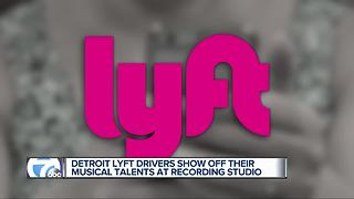 Detroit Lyft Drivers show off their musical talents at recording studio - Video