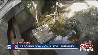 Muskogee County trash crackdown - Video