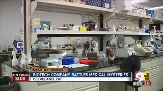 Biotech company battles medical mysteries - Video
