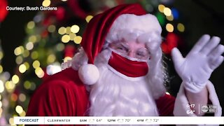 Christmas Town at Busch Gardens features safe meet-and-greets with Santa, ice show, spiked cocoa