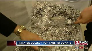 Inmates collect pop tabs for Ronald McDonald House - Video