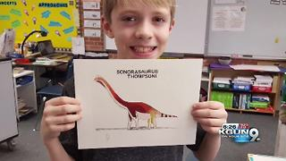 Boy wants Arizona to have an official dinosaur - Video