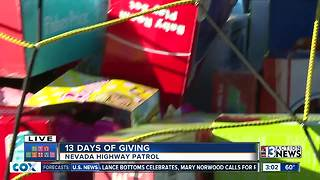 Caravan brings toys to the Las Vegas Rescue Mission | 13 Days of Giving - Video