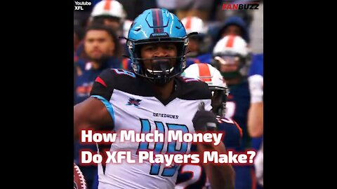 How Much Money Do XFL Players Make?