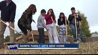 Canyon County Habitat Ground Breaks New Home - Video