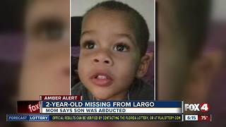 AMBER ALERT: Missing 2-year-old boy from Largo, Florida - Video