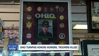 Special memorial sign to honor workers, troopers killed on Ohio Turnpike - Video