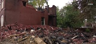 Saint Louis home gets leveled by explosion