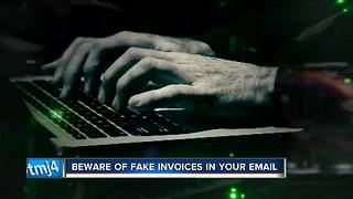 Beware of Fake Invoices in Your Email - Video