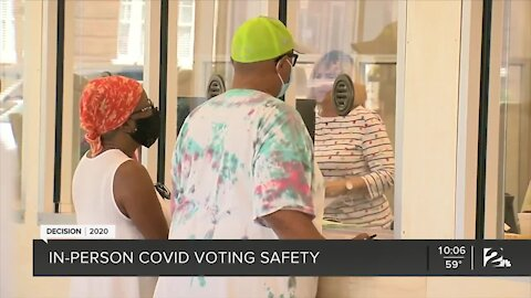 Keeping voters safe from COVID-19 at the polls