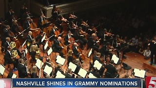 Nashville Artists Among Grammy Nominees - Video