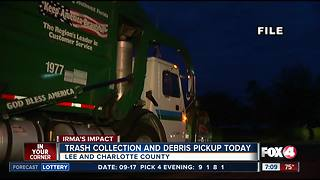 Lee County resumes solid waste collection - Video