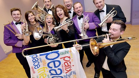 Britain's longest running brass band sends album to every world leader on 120th anniversary in bid for world peace