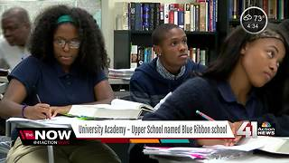 University Academy - Upper School recognized as Blue Ribbon School - Video