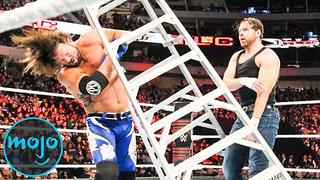 Top 10 Greatest WWE TLC Matches - Video