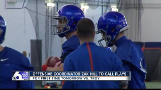 Harsin believes in Hill's play calling ability - Video