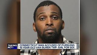 Connecticut man accused of pursuing 15-year-old metro Detroit girl for sex - Video