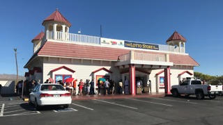 Powerball fever in Primm - Video