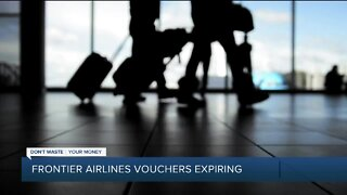 Frontier Airlines' COVID-19 flight vouchers are already expiring