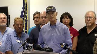 Gov. Scott Wednesday morning Hurricane Irma news conference - Video