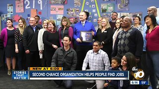 Second Chance organization helps people find jobs