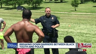 Breaking down barriers between black youth and police