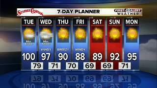 13 First Alert Weather for September 12 2017 - Video