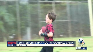 Jupiter Christian Football Camp 6/3